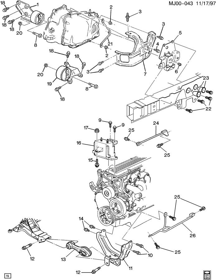 97 Chevy Cavalier Speaker Wiring Diagram