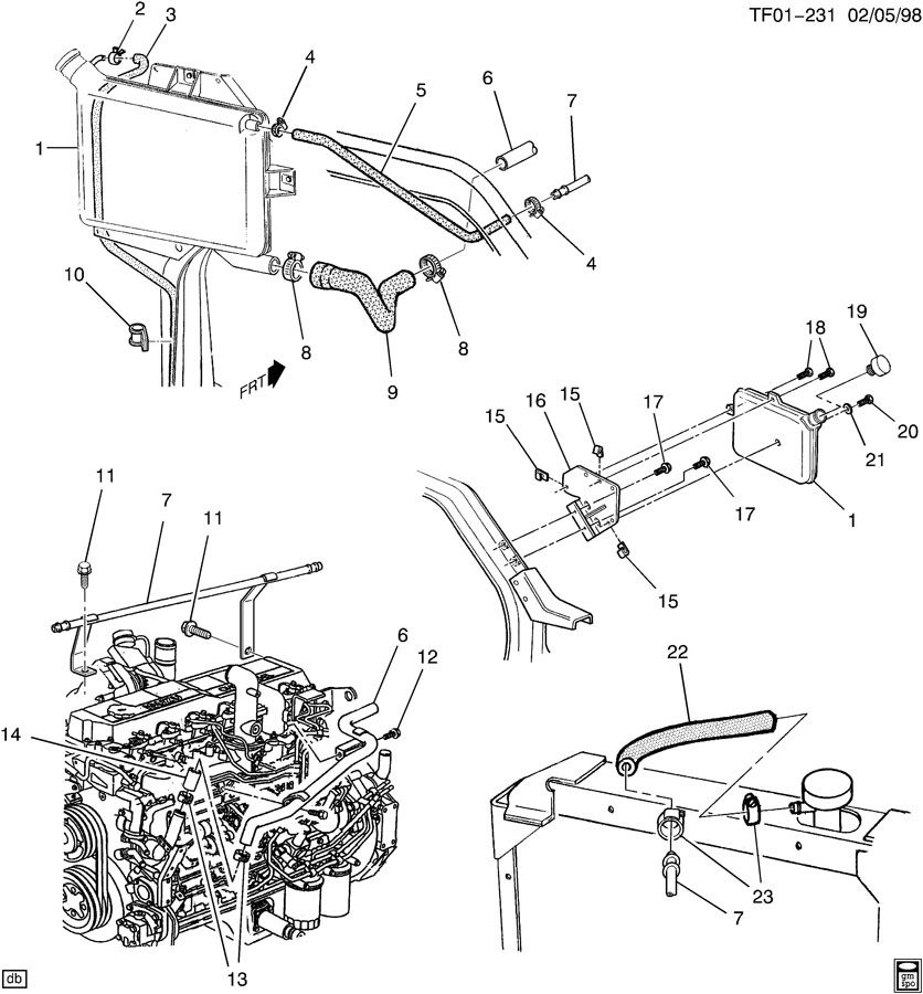Kysor cadillac engine shutdown systems theory