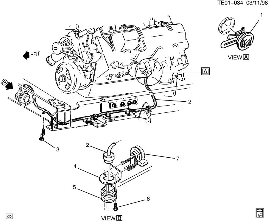 2000 International Truck Parts Diagram, 2000, Free Engine