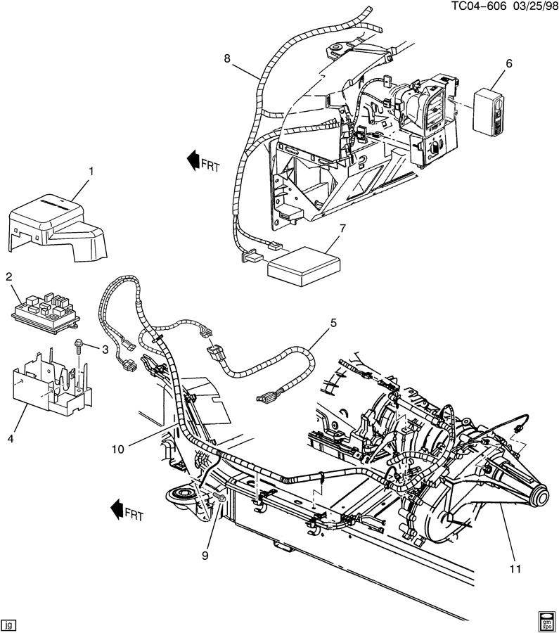 Wiring Diagram For A Gm 4L60E Transmission