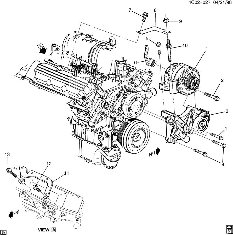 2006 pontiac g6 alternator wiring diagram 4 way flat 2010 chevy impala thermostat location 2008 ~ elsavadorla