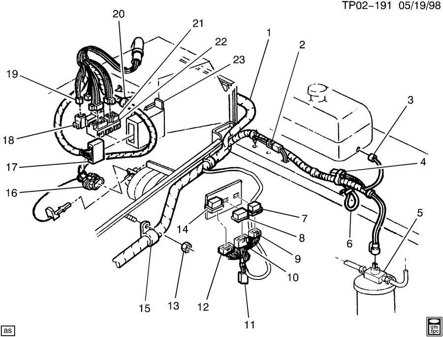 Chevrolet P30 WIRING HARNESS/ENGINE PART 2