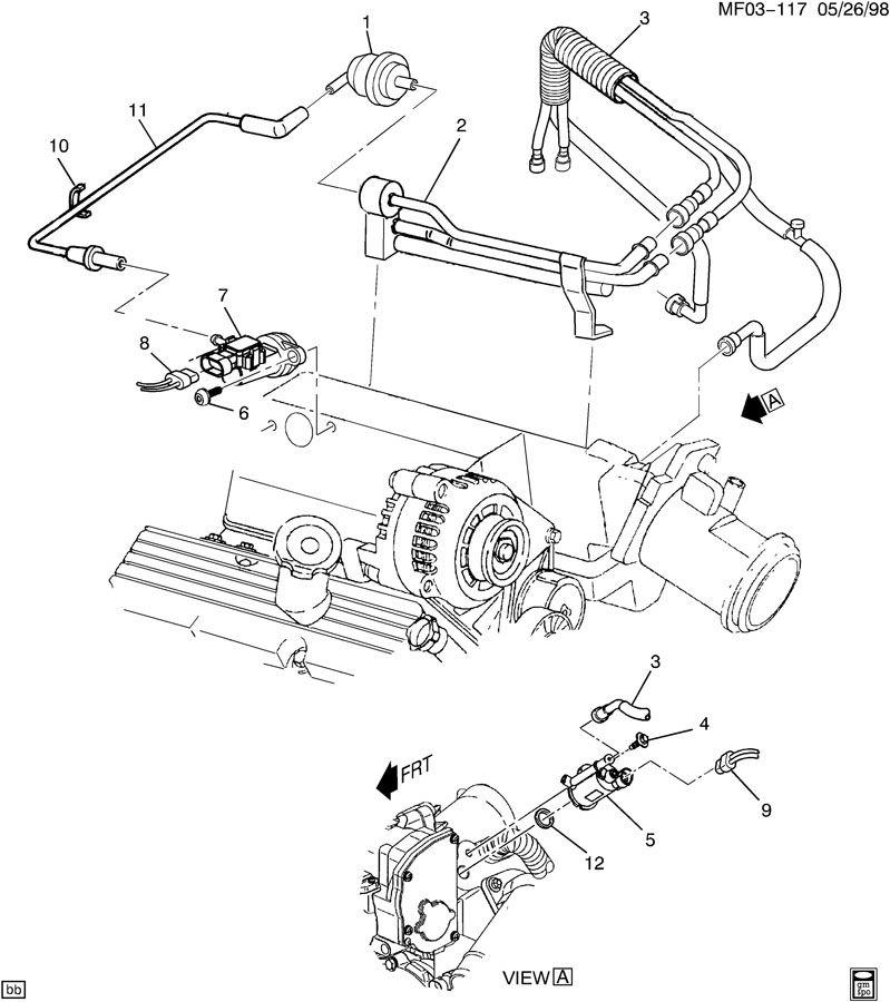 1992 Camaro Vacuum Hose Diagram, 1992, Free Engine Image
