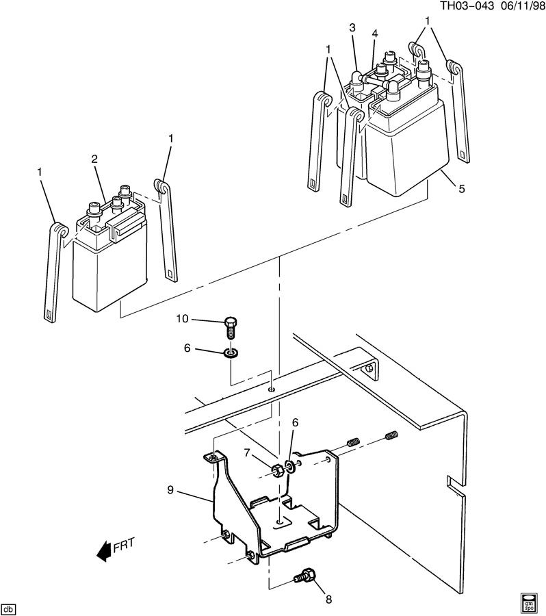 Service manual [How To Remove Vapor Canister 2000