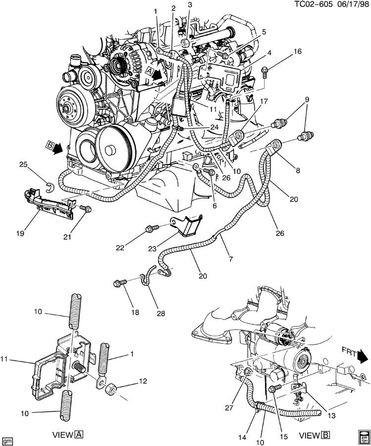 02 yukon engine diagram