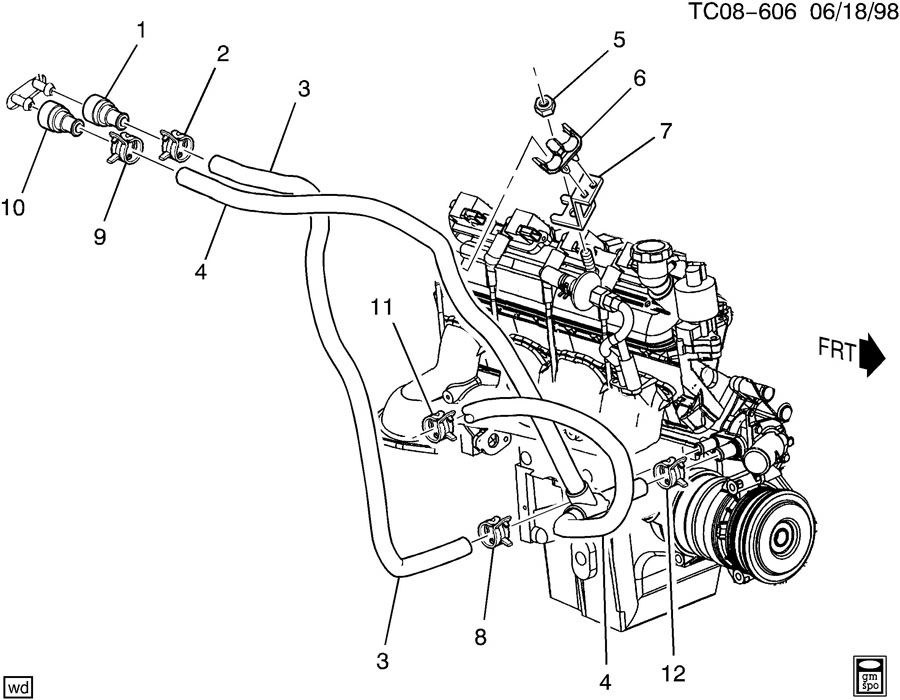2000 Chevy Silverado 1500 Fuel System Wiring Diagram