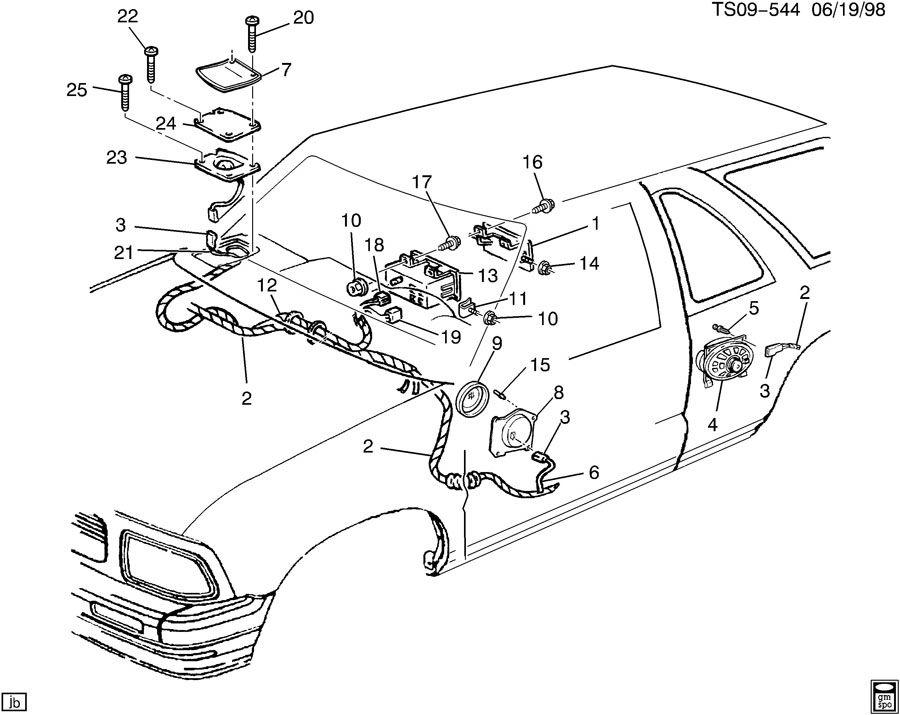 2003 Chevrolet BLAZER AUDIO SYSTEM