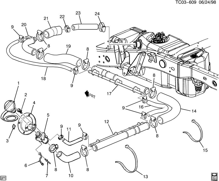 03 Duramax Fuel Filter Housing Diagram, 03, Free Engine