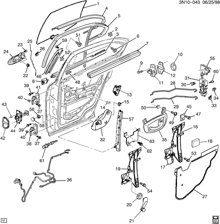 2002 Oldsmobile Vada Exhaust System Diagram. Oldsmobile