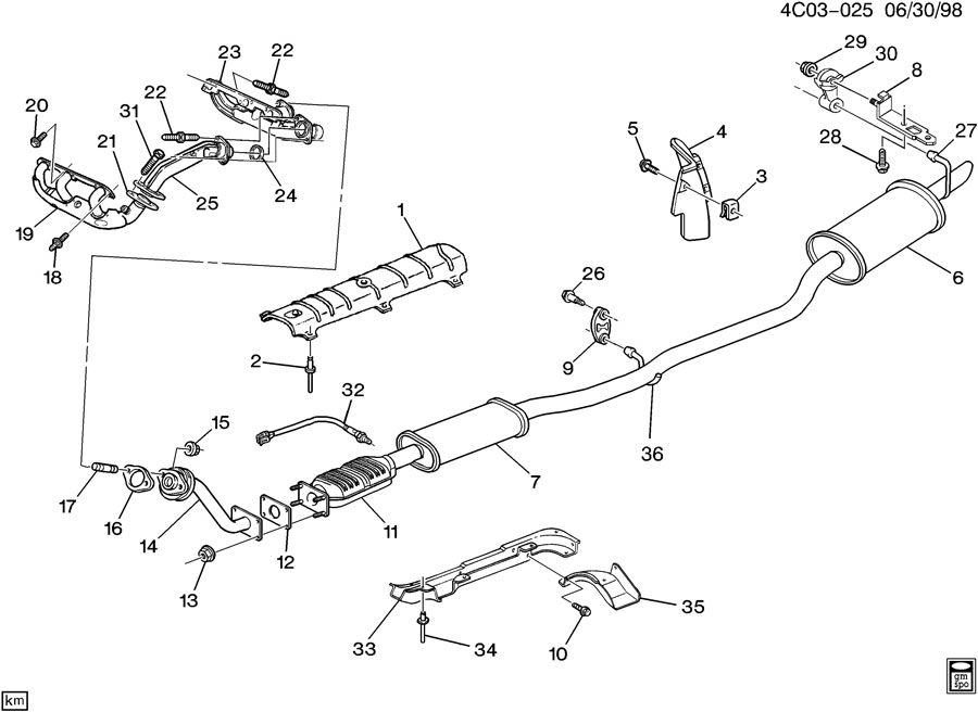 Buick Exhaust Diagram, Buick, Get Free Image About Wiring