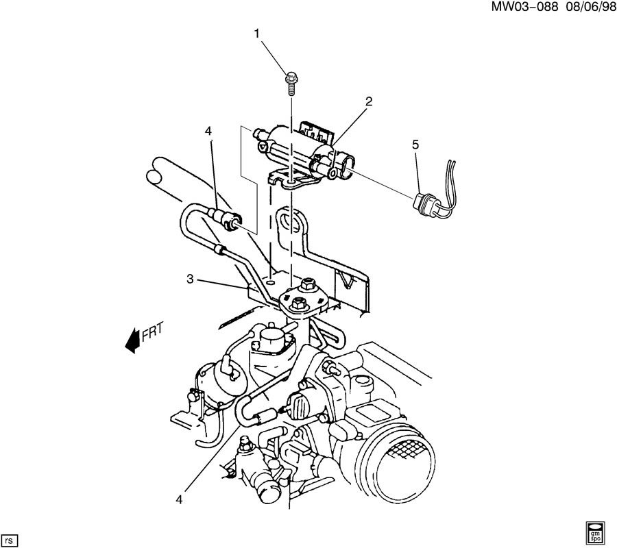 2000 Buick Century Fuel Line Diagram, 2000, Free Engine