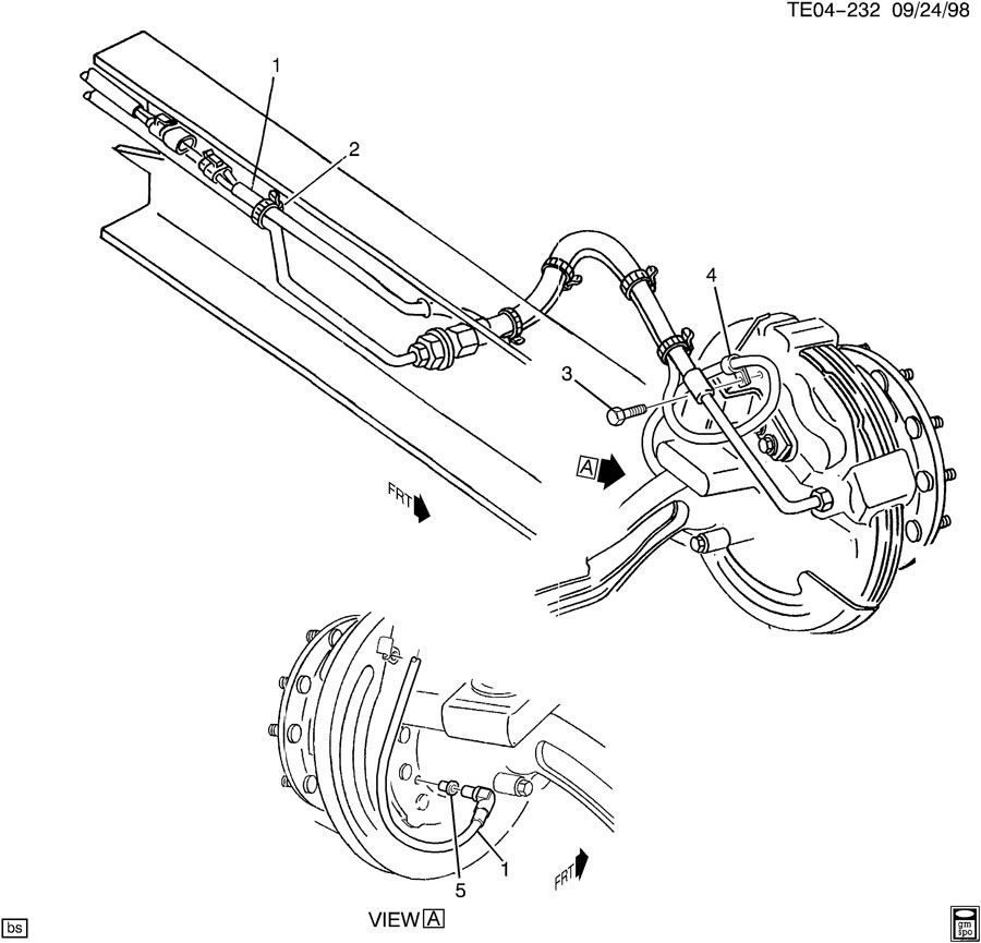 Service manual [1999 Hummer H1 Front Wheel Speed Sensor