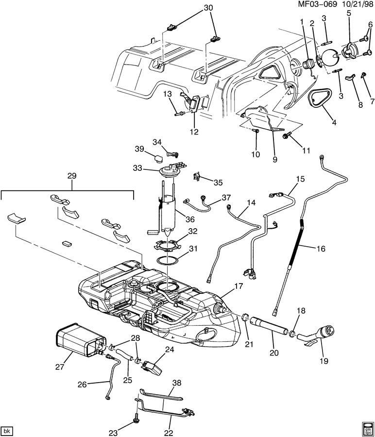 Pontiac Transport Fuel System, Pontiac, Free Engine Image