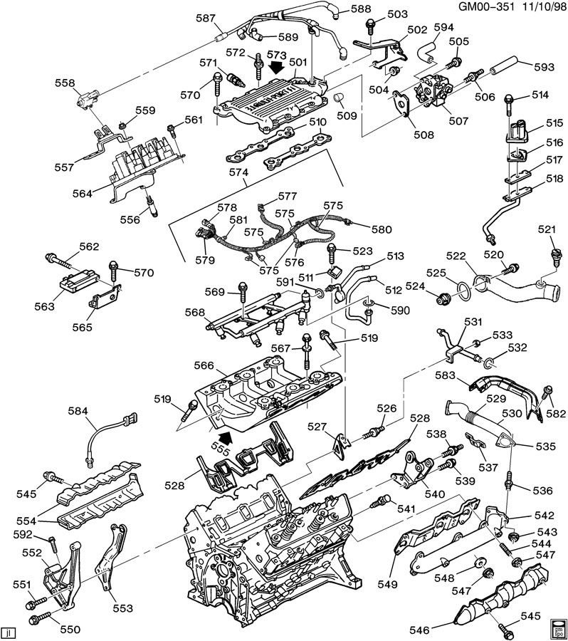 Gm 3 1 Engine Cooling System, Gm, Free Engine Image For
