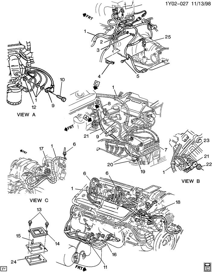 1975 Corvette Wiring Diagram, 1975, Free Engine Image For