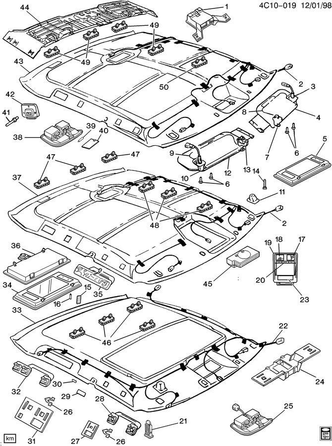 1998 buick park avenue parts diagram