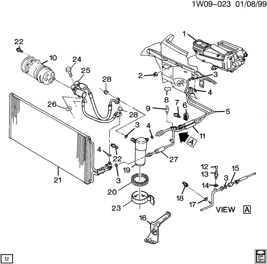Suspension Diagram 2003 Pontiac Bonneville