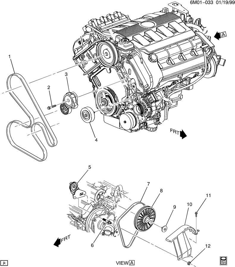 92 Cadillac Eldorado Engine Diagram