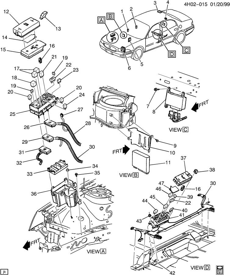 99 Chevy Silverado Radio Harness Diagram, 99, Get Free