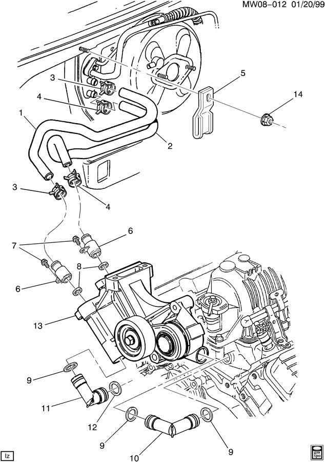 3800 38 chevy engine diagram
