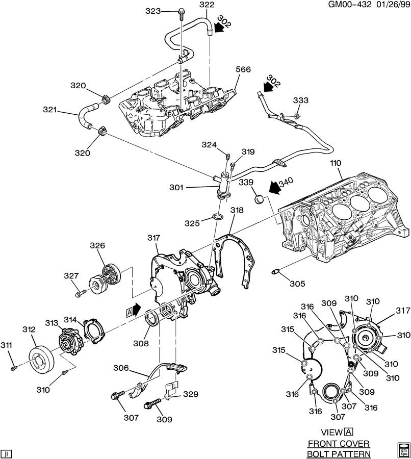 Pontiac Aztek Parts Diagram • Wiring Diagram For Free