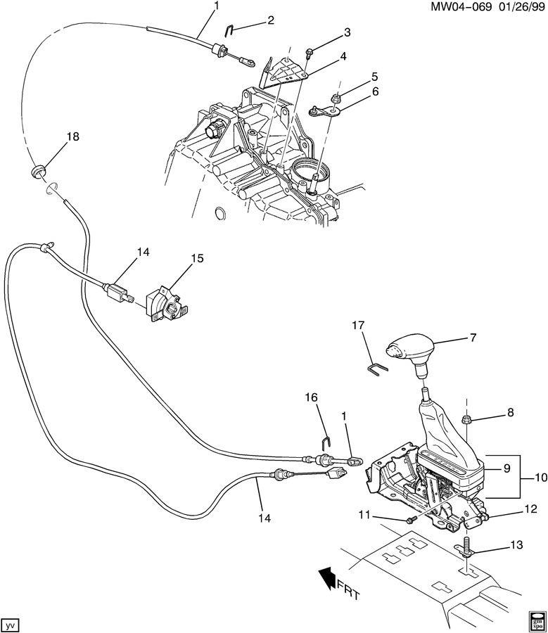 Service manual [How To Install 2000 Chevrolet Lumina Shift