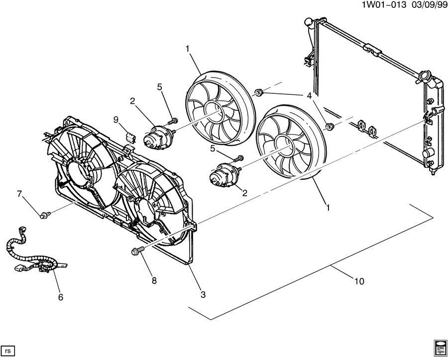 ENGINE COOLANT FAN