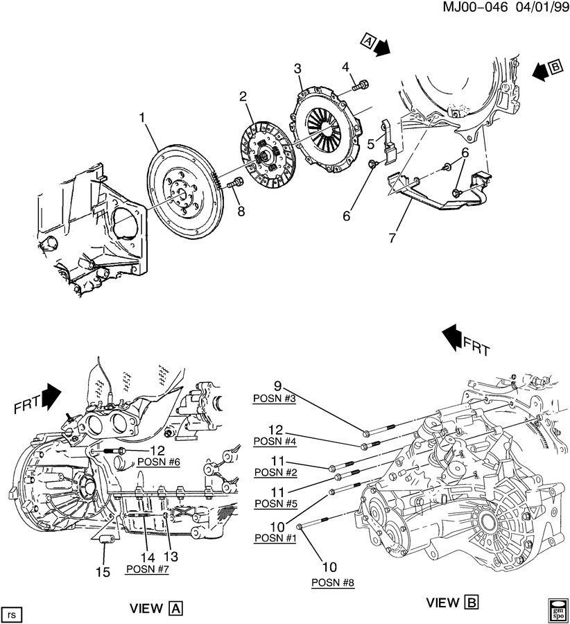 Chevrolet Cavalier CLUTCH