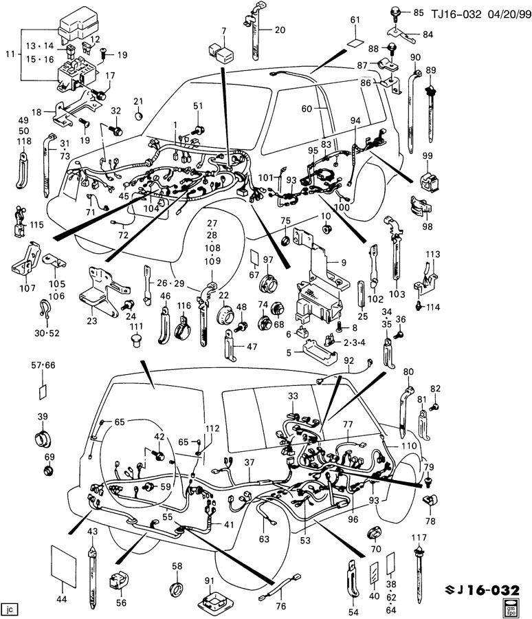 WIRING HARNESS ENTIRE VEHICLE