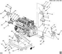 2004 Deville Motor Mount question?