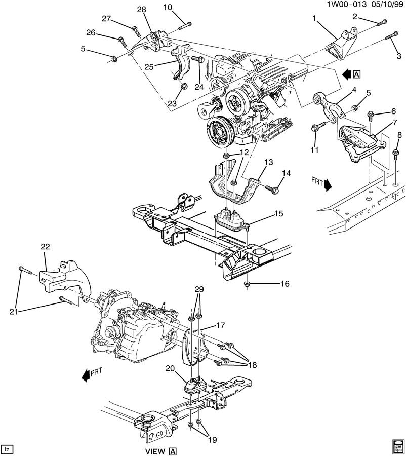 ENGINE & TRANSMISSION MOUNTING