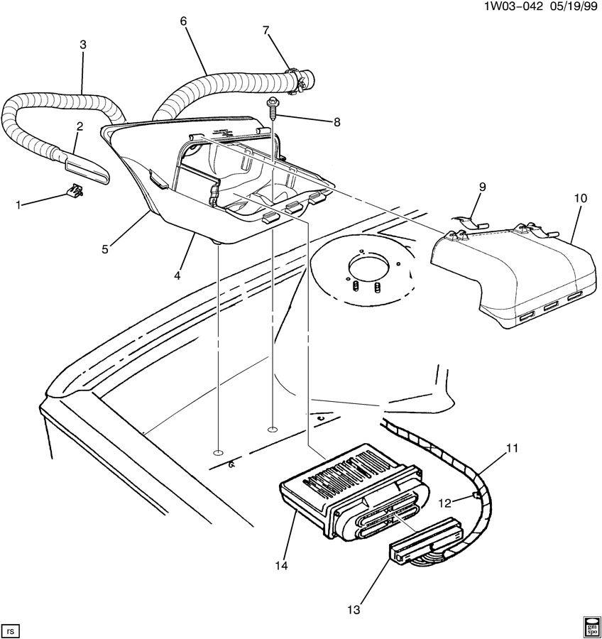 Chevrolet Lumina P.C.M. MODULE & WIRING HARNESS