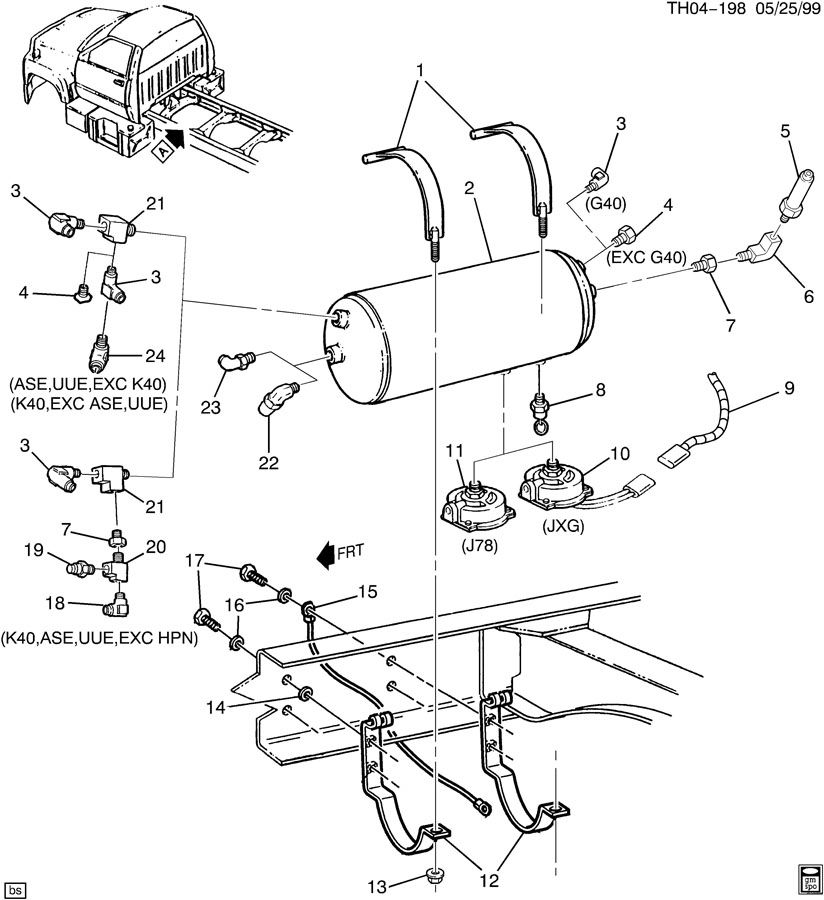 1999 Gmc C6500 Wiring Diagram