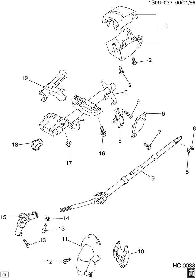 Service manual [Loose Tilt Steering Wheel On A 1995 Geo