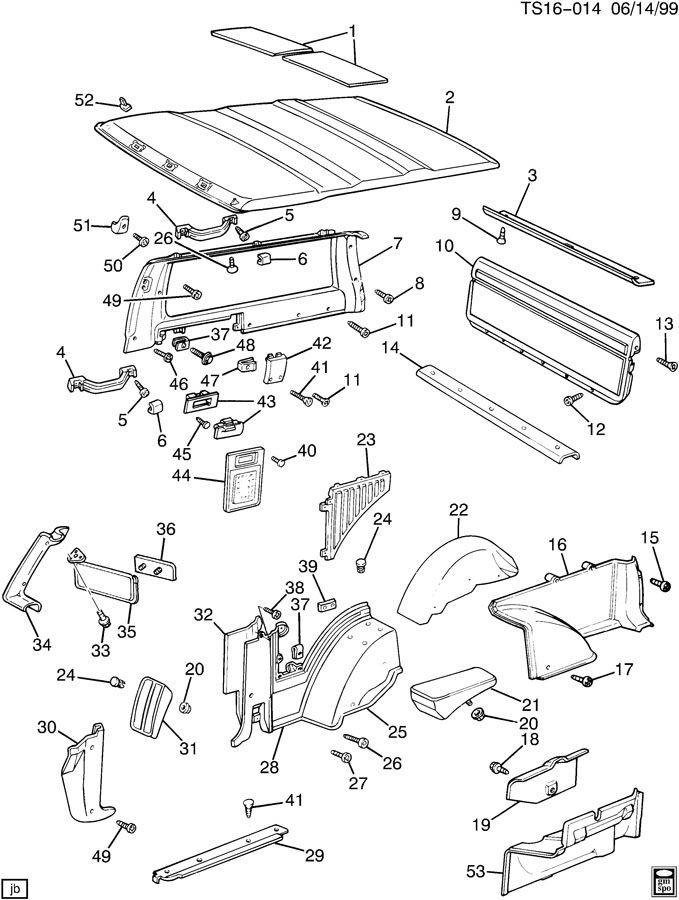 2004 Buick Rainier Engine Diagram