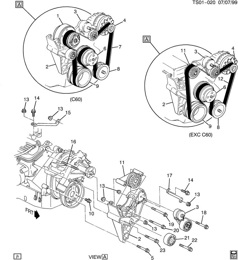 PULLEYS & BELTS-ACCESSORY DRIVE