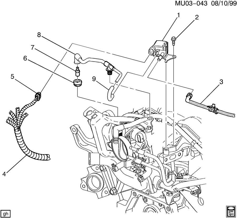 Cadillac Srx Evap System Diagram, Cadillac, Free Engine