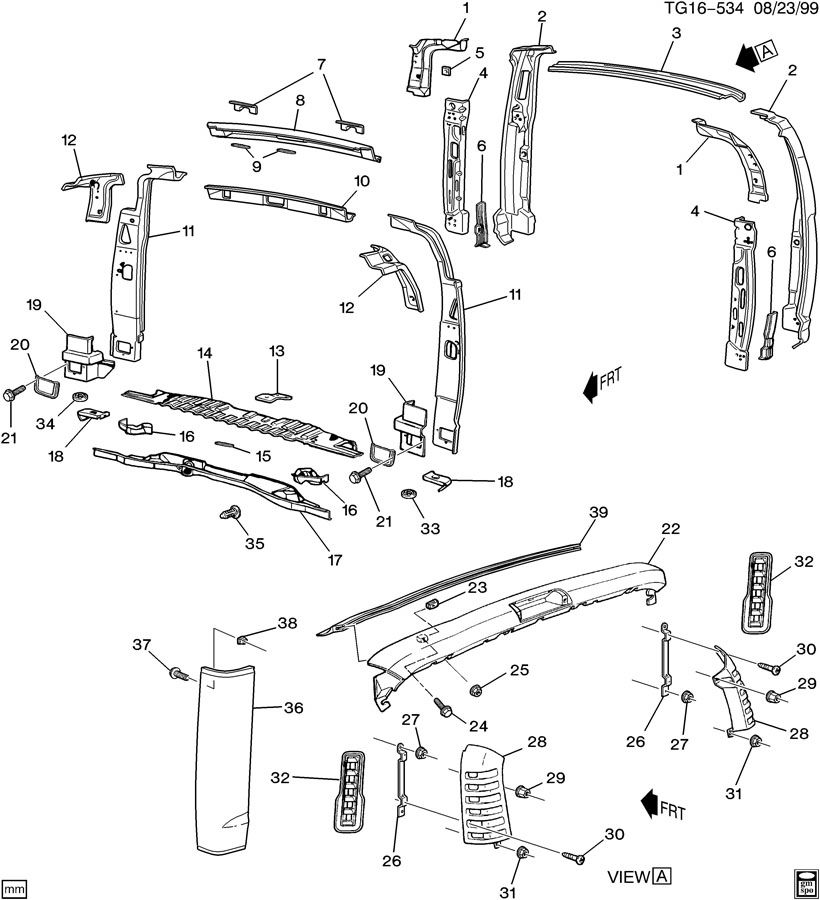 Fuse Box 1994 Chevy C3500. Chevy. Auto Wiring Diagram