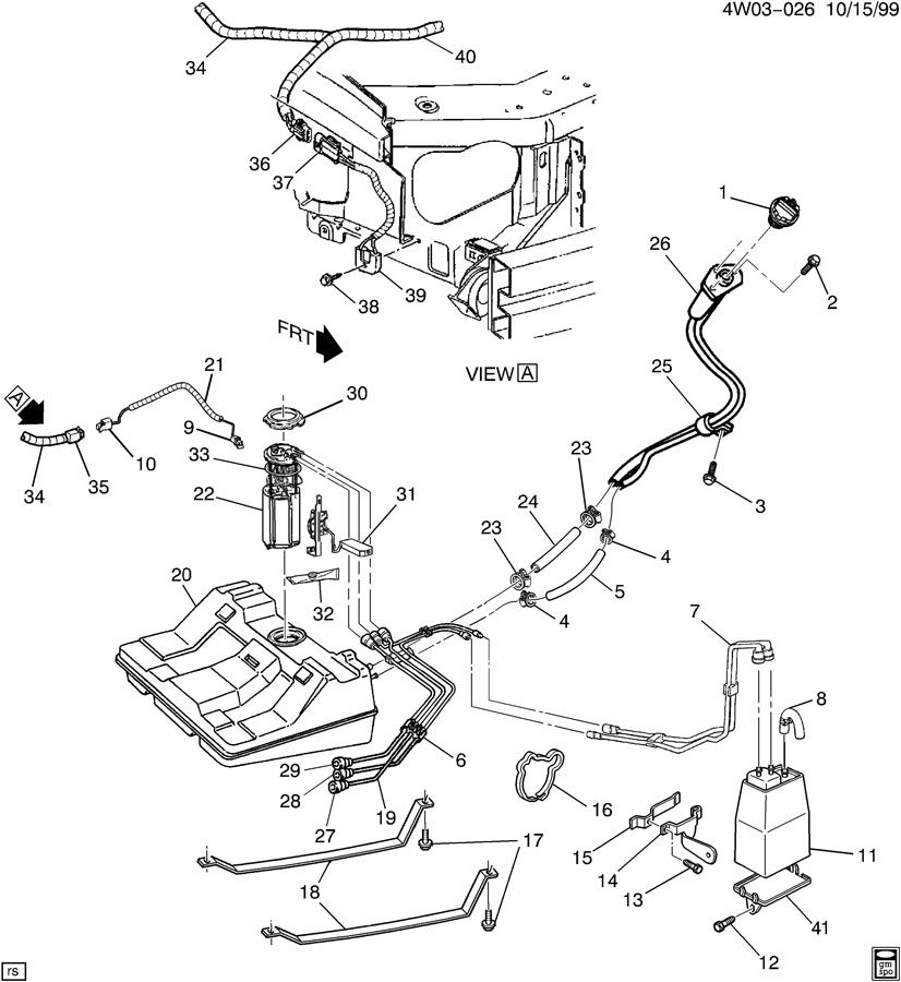 Service manual [1997 Buick Century Gas Tank Removal