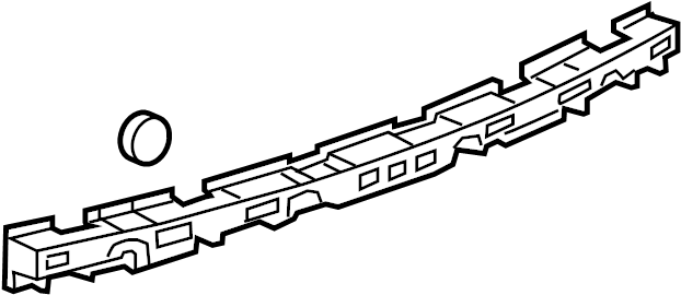 Chevrolet Cruze BUMPER/REAR