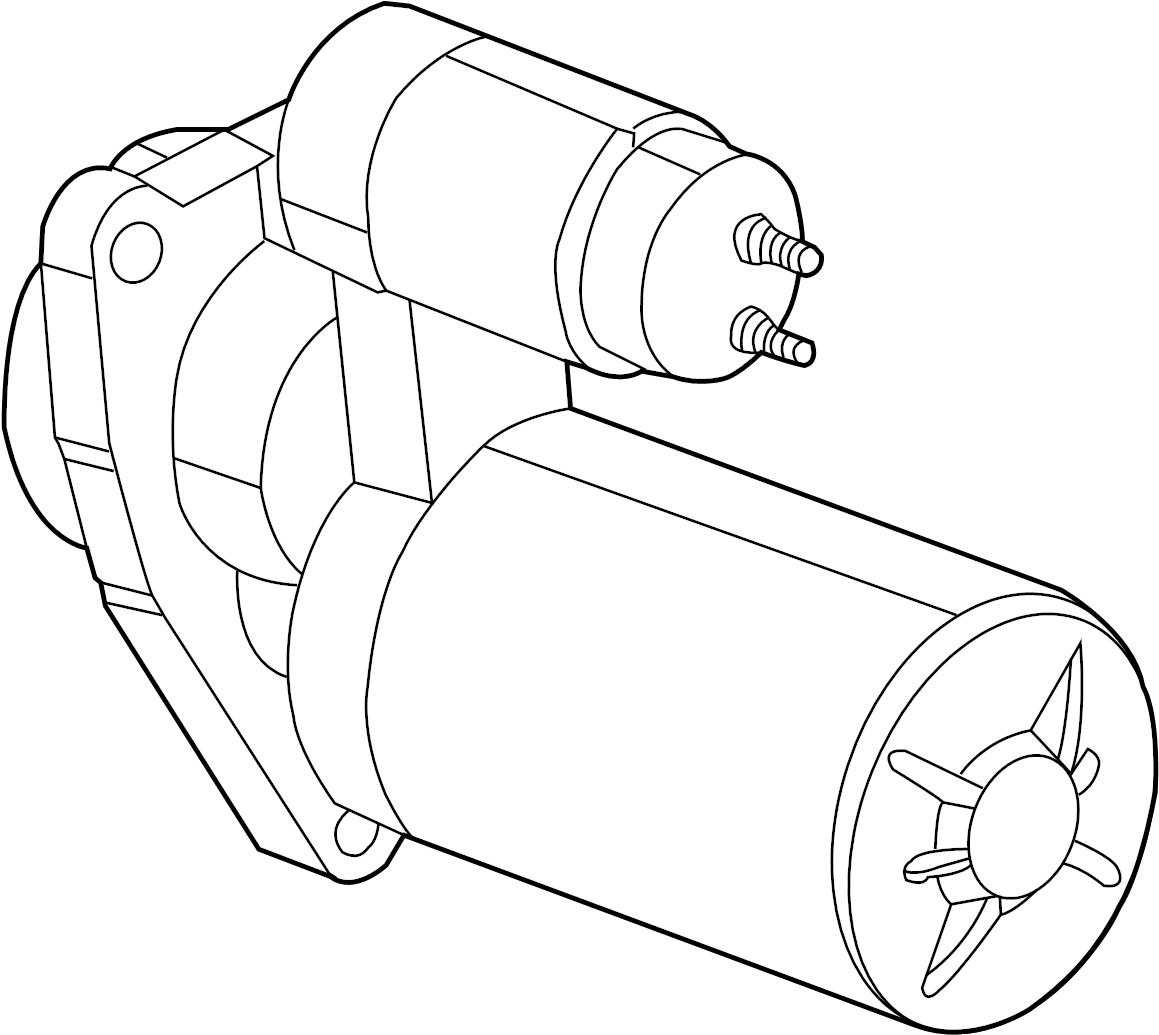 Starter Motor Mounting
