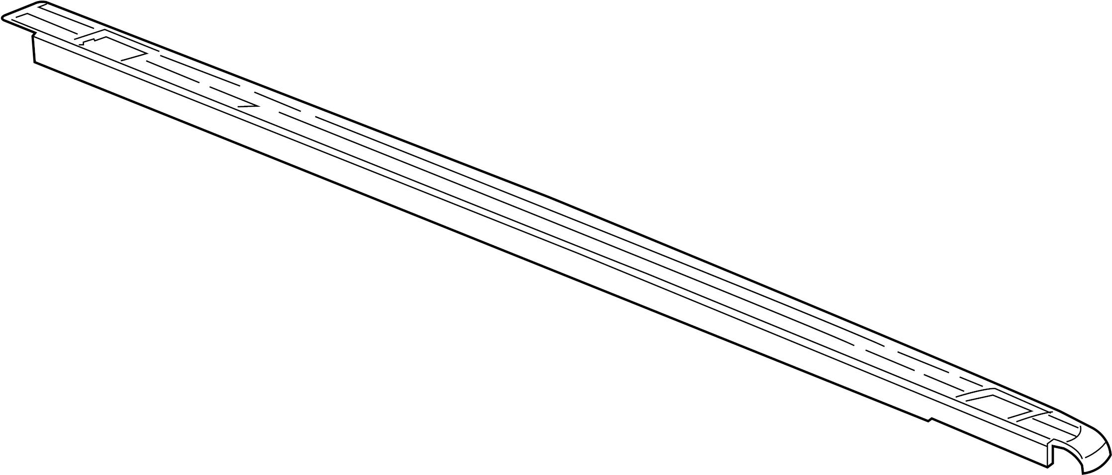 Pickup Box Side Rail Protector