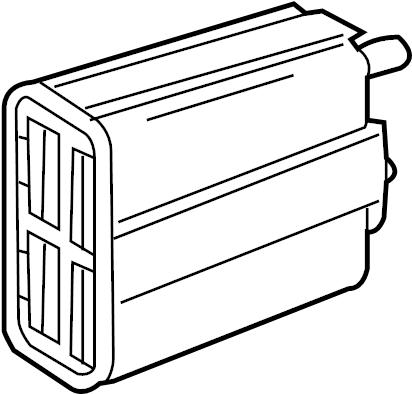 2007 Chevrolet Canister. Fuel tank evaporator/purge