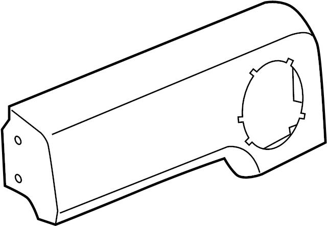 FLARE/REAR WHEEL OPENING-LH