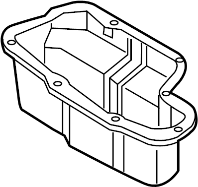 Nissan Armada Engine Oil Pan. ASSEMBLY, COMPONENT, MADE