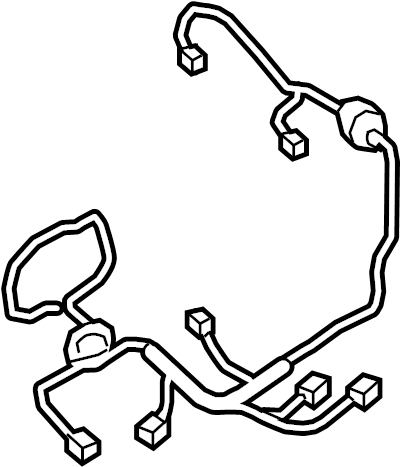 Nissan Titan Power Seat Wiring Harness (Left, Front