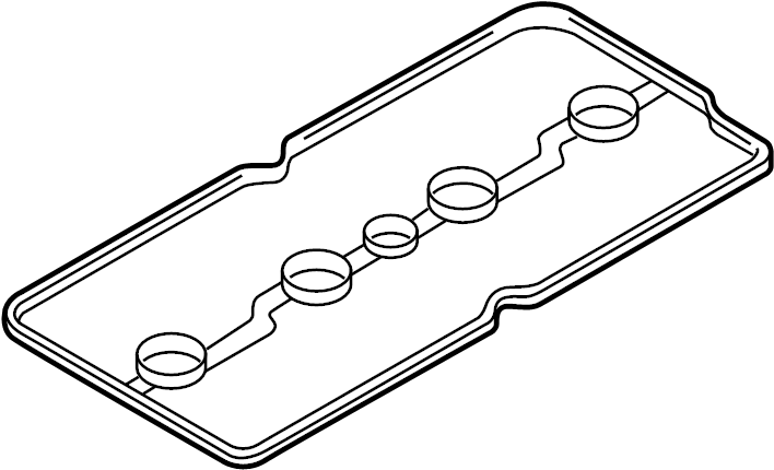 Nissan Cube Engine Valve Cover Gasket. COMPONENT, ASSEMBLY