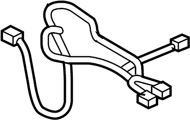 Nissan Frontier Power Seat Wiring Harness (Right, Front