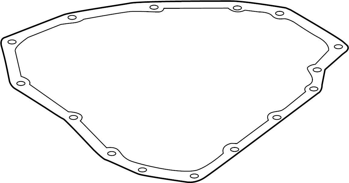 Nissan Versa Note Automatic Transmission Oil Pan Gasket