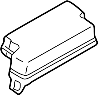 Nissan Pathfinder Fuse Box Cover. ENGINE, FITTING, ROOM
